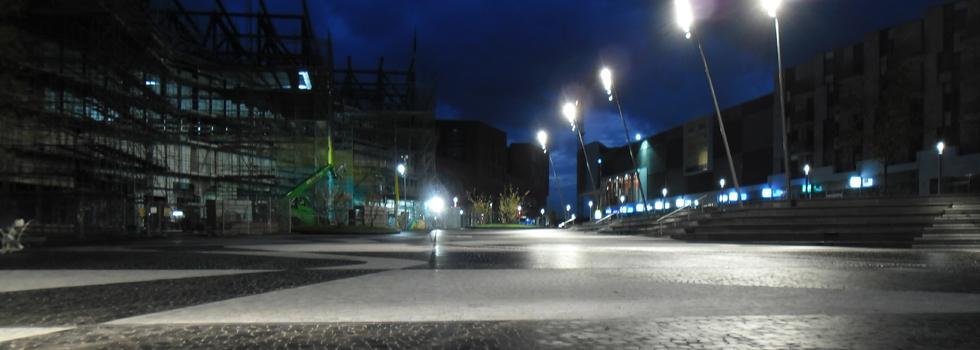 Eemplein Amersfoort bij nacht